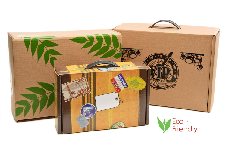 Information Packaging Products Eco Friendly Custom