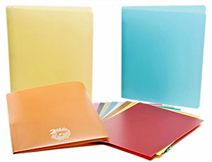 Eco-Friendly Poly Binders and Folders